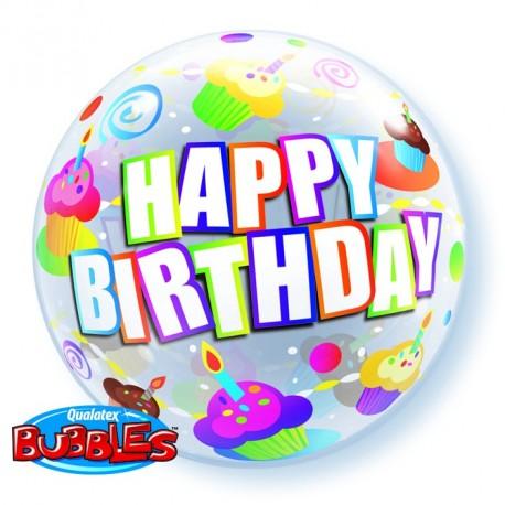 Bubble HBD Color full Cake