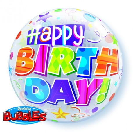 Bubble HBD Strars & Stripe