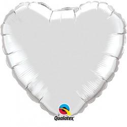 Coeur aluminium Silver