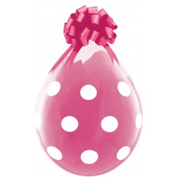 Ballon Cadeau Big Polka Dots