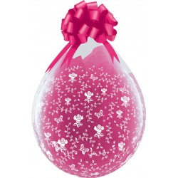 Ballon Cadeau small flowers