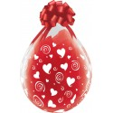 Ballon Cadeau Coeurs