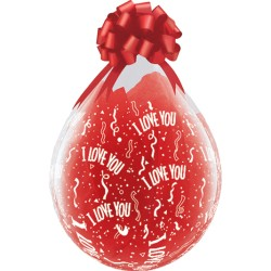 Ballon Cadeau I Love You
