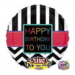 Happy Birthday ballon chantant
