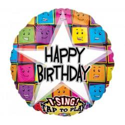 Birthday ballon chantant