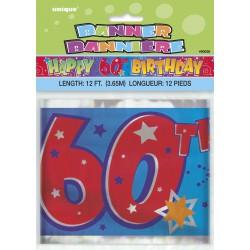 Bannière d'anniversaire 60 ans