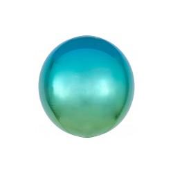 Orbz ombré bleu et vert