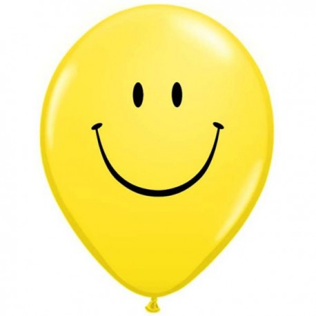 Latex Imprimés smiley face
