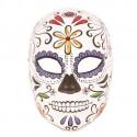 Masque mortuaire woman flowers