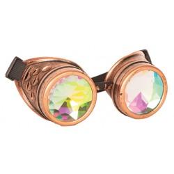 Lunettes Kaleidoscope steampunk
