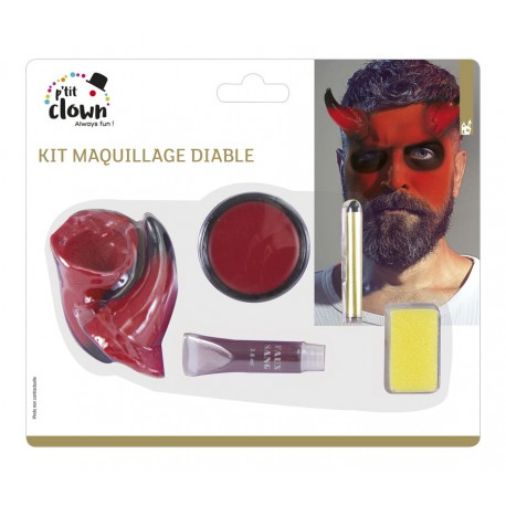 Kit maquillage diable