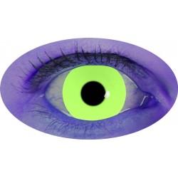 Lentilles UV jaune