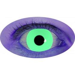 Lentilles UV vert