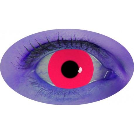 Lentilles UV rouge