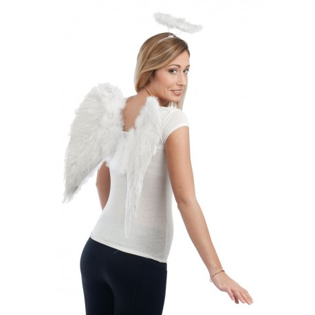 Ailes d'ange blanches