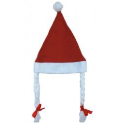 Châpeaux Noël avec tresses