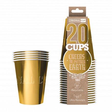 Original cup or brillant.