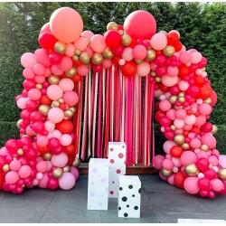 Arche rose et rouge