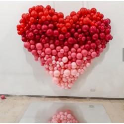 Coeur en ballons