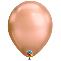 Ballon chrome rose gold