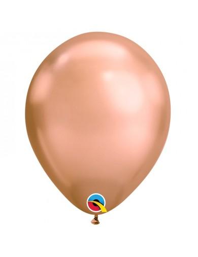 Ballon chrome rose gold