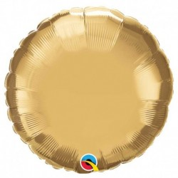 Rond aluminium Chromé gold