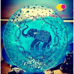 Ballon personnalisé logo