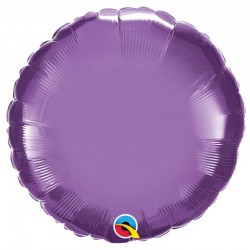 Rond aluminium Chromé purple