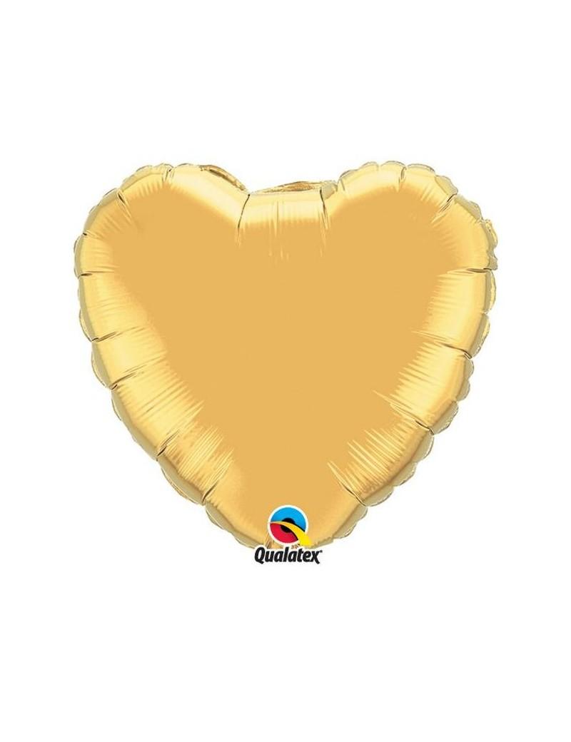 Coeur aluminium Gold