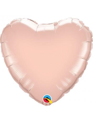 Coeur aluminium Rose Gold
