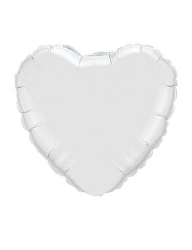 Coeur aluminium White