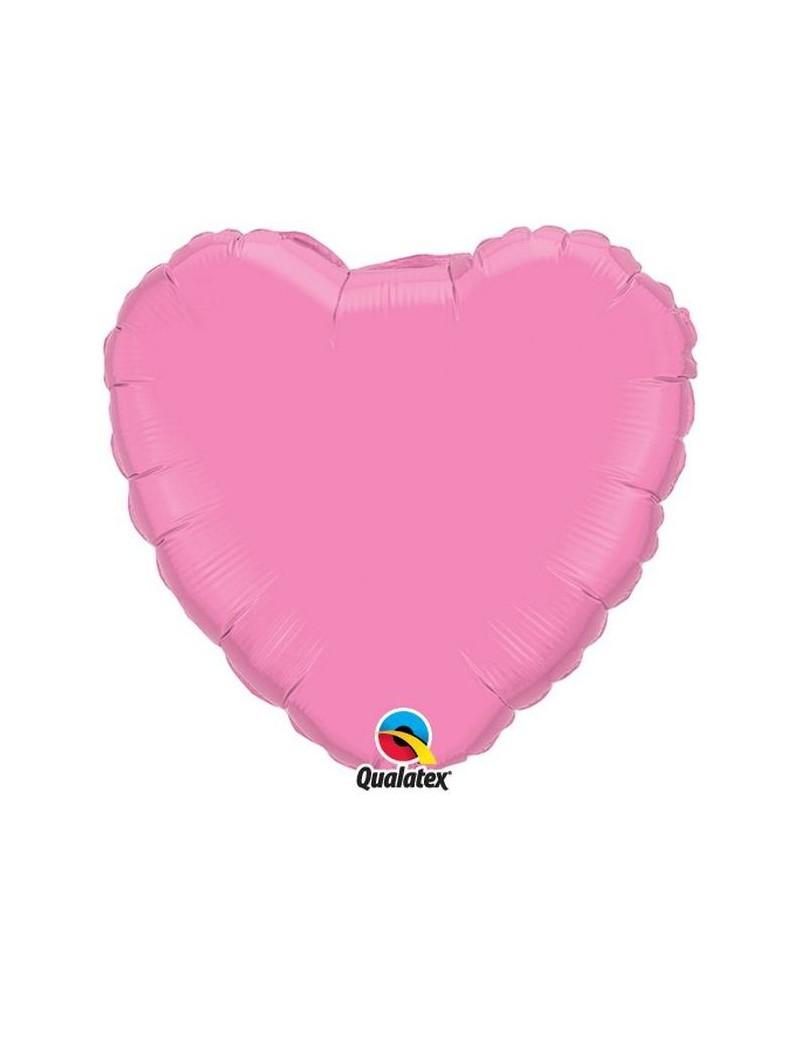 Coeur aluminium Rose