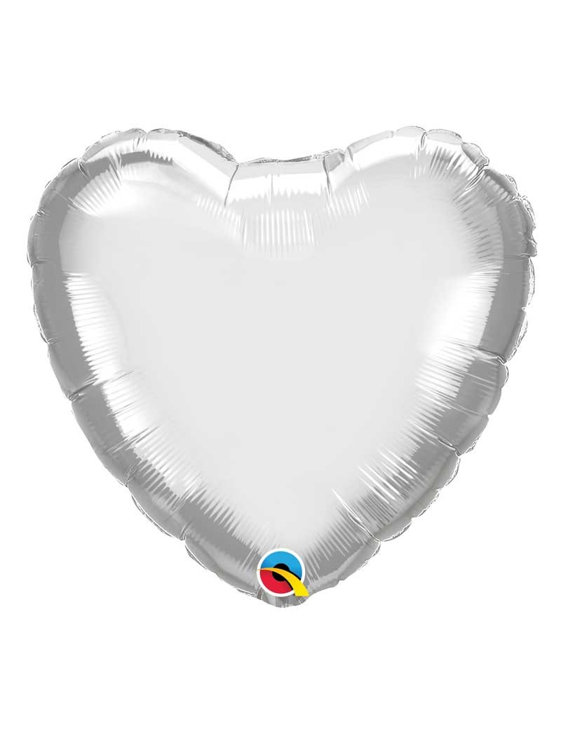 Coeur aluminium Chrome Silver