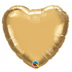 Coeur aluminium Chrome Gold