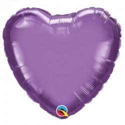 Coeur aluminium Chrome Purple