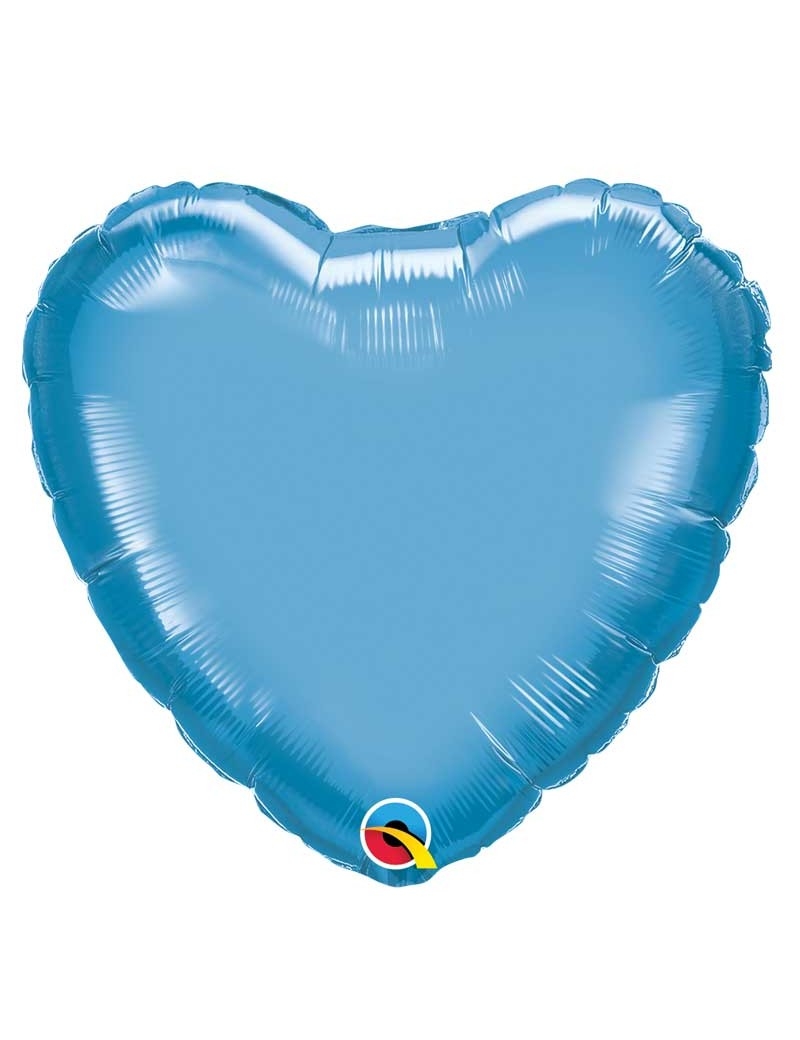 Coeur aluminium Chrome Blue
