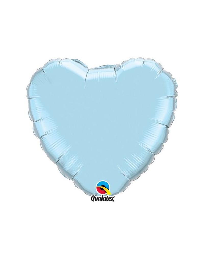 Coeur aluminium pearl Light Blue
