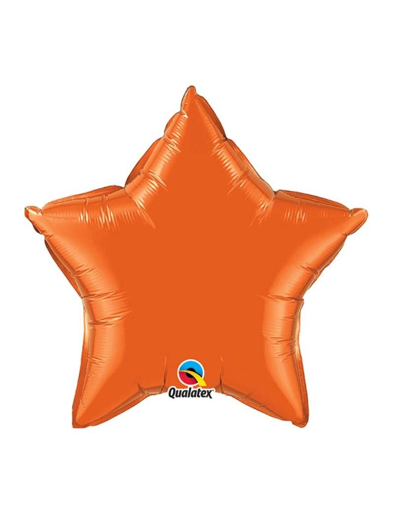 Etoile aluminium Orange