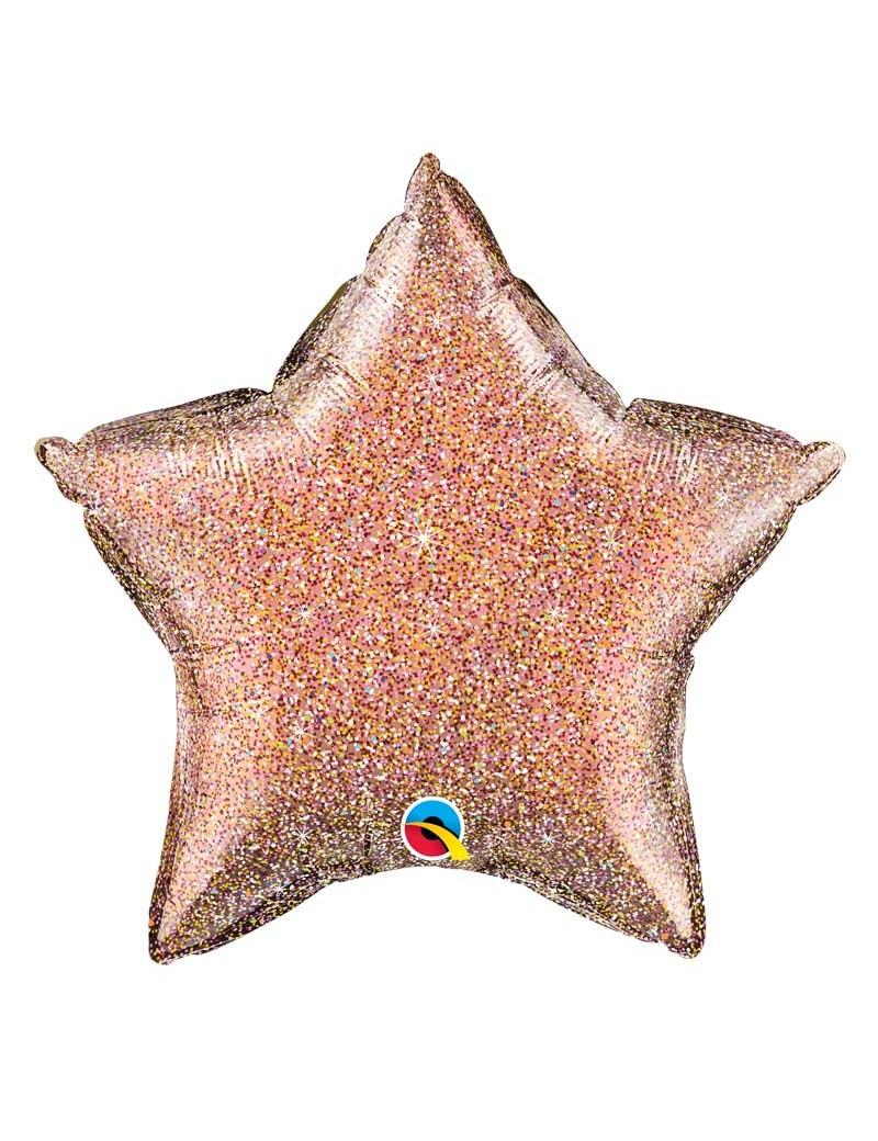 Etoile aluminium Glittergraphic Rose Gold
