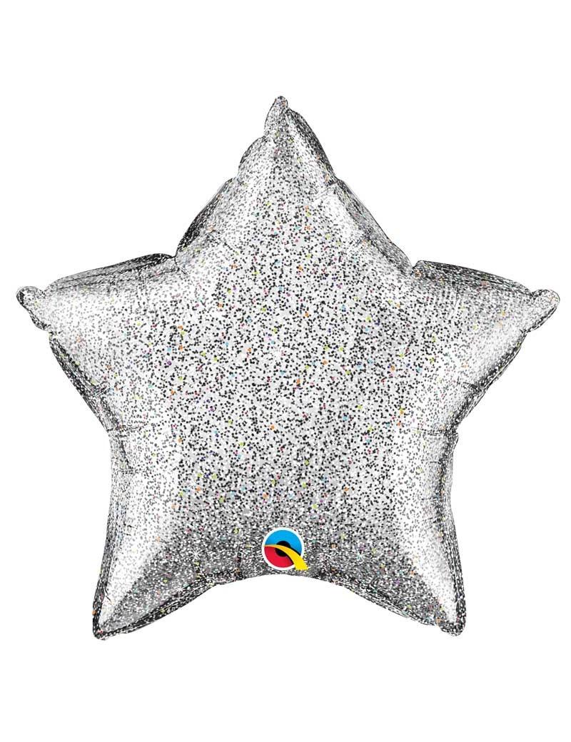 Etoile aluminium Glittergraphic Silver