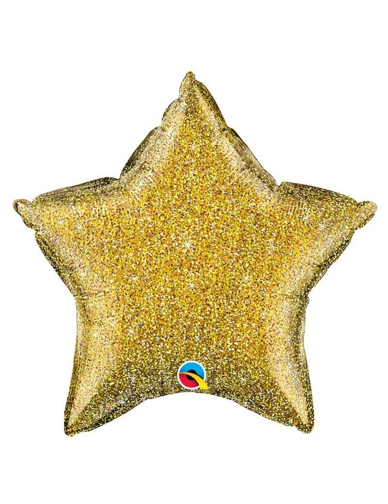 Etoile aluminium Glittergraphic Gold