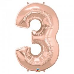"""Chiffre """"3"""" 86 cm"""