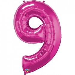 """Chiffre """"9"""" 86 cm"""
