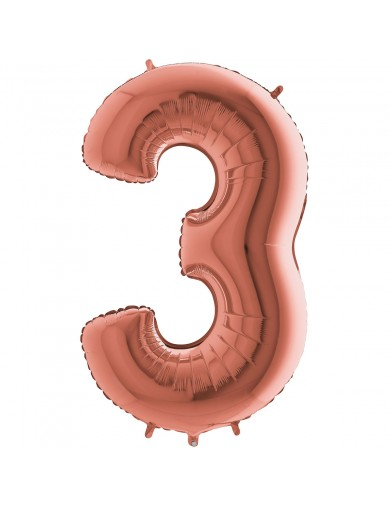 """Chiffre """"3"""" 35 cm"""