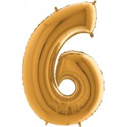 """Chiffre """"6"""" 35 cm"""