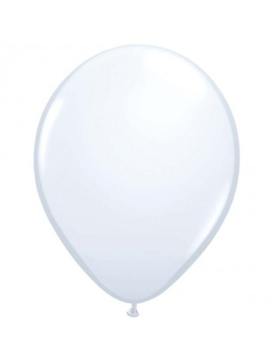 Ballon latex standard Blanc
