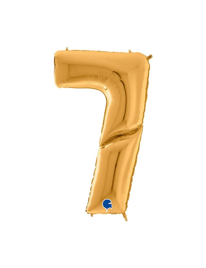 """Chiffre """"7"""" 162 cm"""