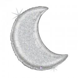 Lune Glitter Silver