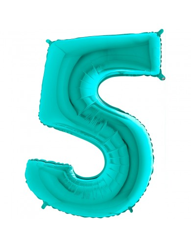"""Chiffre """"5"""" 66 cm tiffany"""