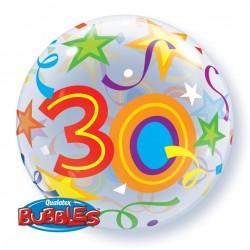 Bubble age 30